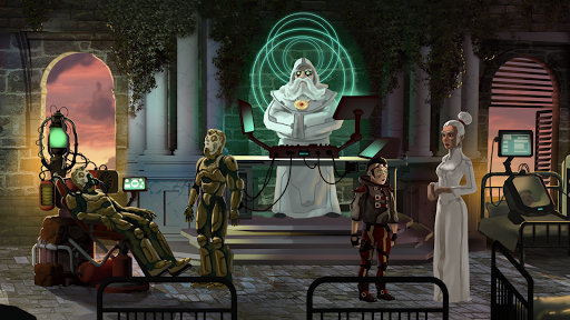 Adventure Reborn: story game point and click  screenshots 2