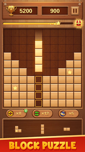 Wood Block Puzzle - Free Classic Brain Puzzle Game  screenshots 1