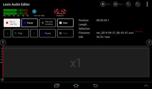 Lexis Audio Editor 1.1.105 Screenshots 6