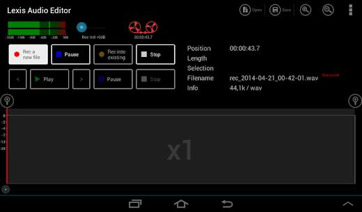 Lexis Audio Editor 7