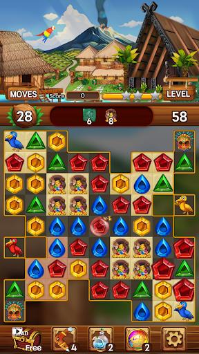 Island of Jewels: Aloha ! Match3 puzzle  screenshots 16