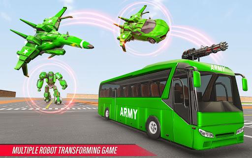 Army Bus Robot Car Game u2013 Transforming robot games 5.1 Screenshots 1