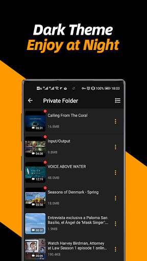 Video Downloader, Private File Downloader & Saver apktram screenshots 6