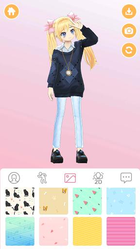 Girl-Styledoll Fashion Show - 3D Avatar maker  screenshots 1