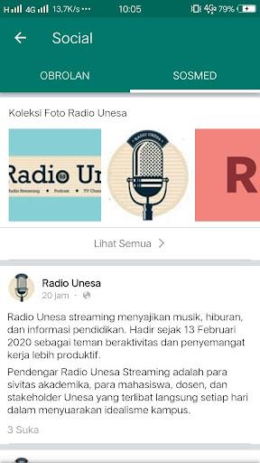Radio Unesa  screenshots 3