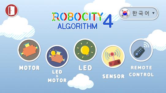 Robocity 4 algorithm APK for Android 1