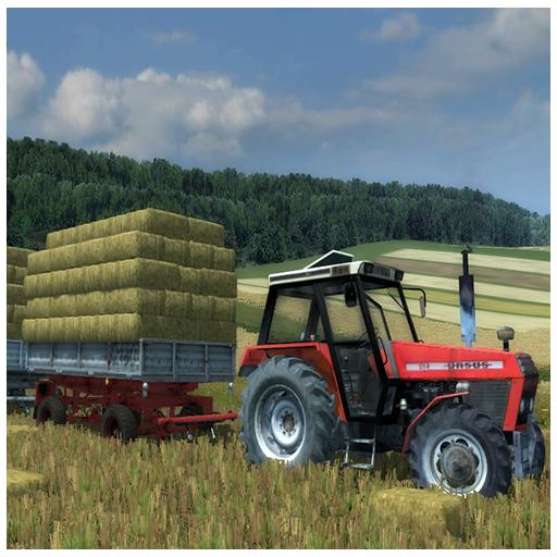Tractor Animal Transport 3D