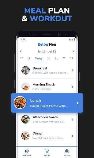 BetterMen: Home Workouts & Diet 1.4.19 Screenshots 2