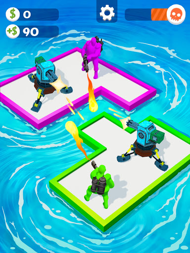 War of Rafts: Crazy Sea Battle  screenshots 19