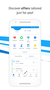 MyGP – Free Internet, Recharge, Live TV, FlexiPlan Screenshot