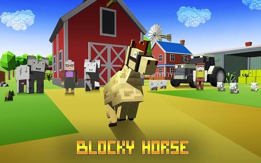 Blocky Horse Simulator 2.0 screenshots 9