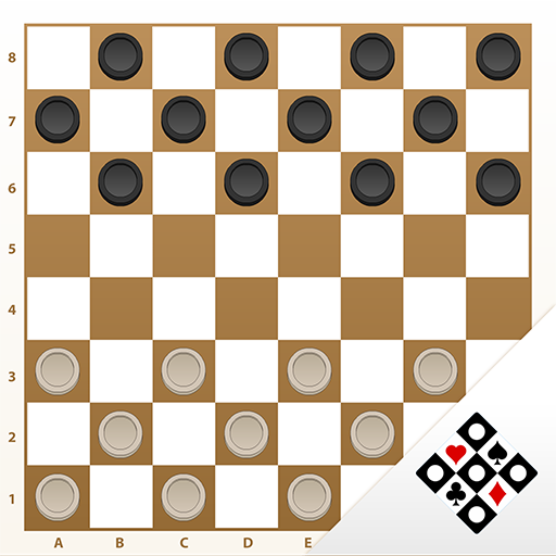 Checkers Online: board game