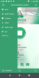 Download Rádio Evangélica Adonai For PC Windows and Mac apk screenshot 2