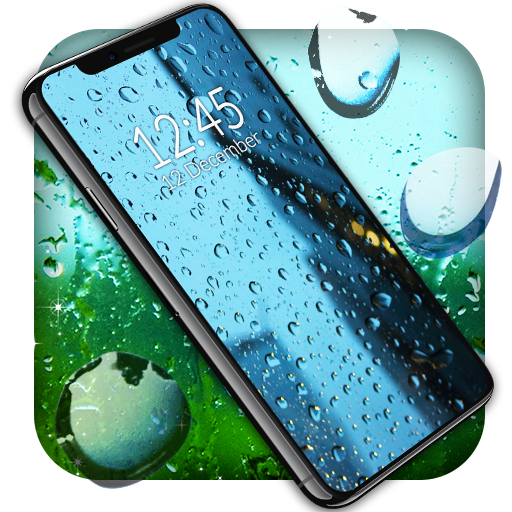 Rain Live Wallpaper Water Drops Wallpapers Apps On Google Play