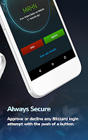 screenshot of Blizzard Authenticator