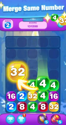 Bubble Merge 2048  screenshots 1