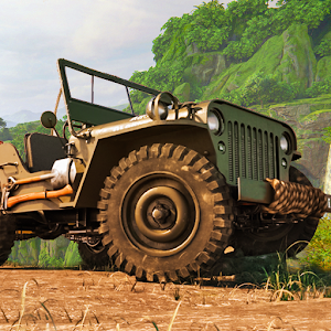 Offroad Jeep Driving Game   Racing Stunts Game
