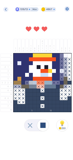 Nonogram - Logic Color Game  screenshots 1