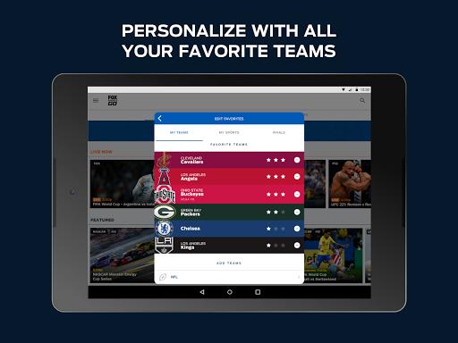 Fox Sports Go 4.8.0 Screenshots 10