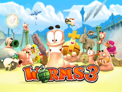 Worms 3 2.06 Mod APK Download 1