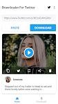 screenshot of Download Twitter Videos - GIF | Tweet Downloader