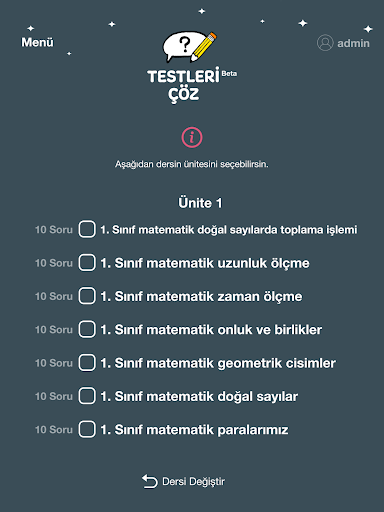 Testleri u00c7u00f6z 0.4.4 Screenshots 16