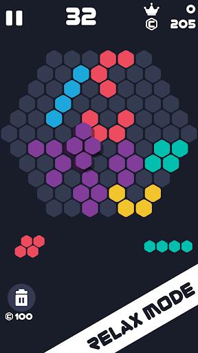 Hexa Mania Fill Hexagon Puzzle, Hex Block Blast  screenshots 2