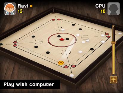 Carrom Multiplayer - 3D Carrom Board Games Offline screenshots 7