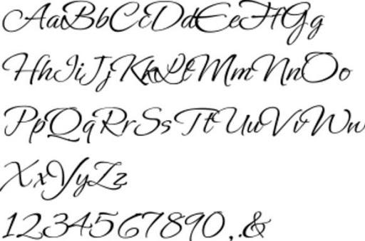 Calligraphy Lettering 1.0 Screenshots 5