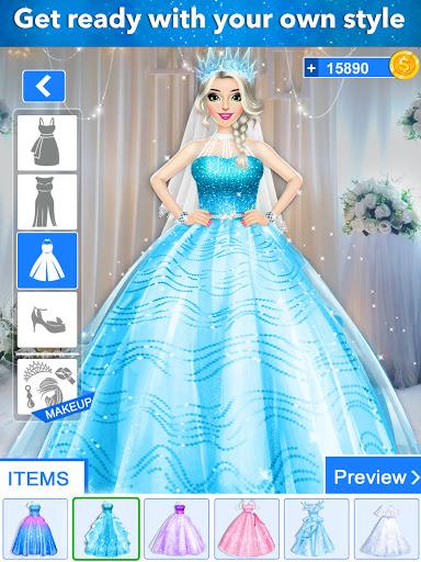 Ice Princess Wedding Dress up 0.25 screenshots 7