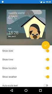 Pugz: Weather Widget