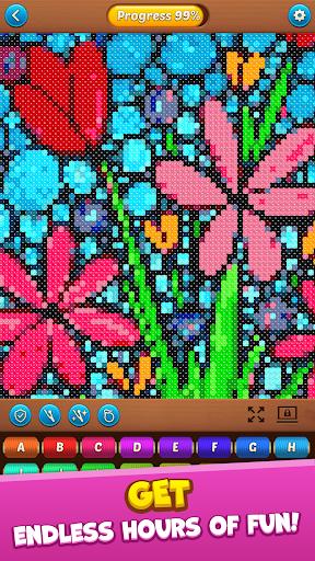 Cross Stitch: Coloring Art  screenshots 1