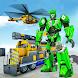 Super Train robot transformation: Grand robot game