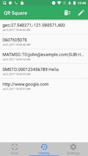 QR Square - QR Code Reader & Barcode Scanner