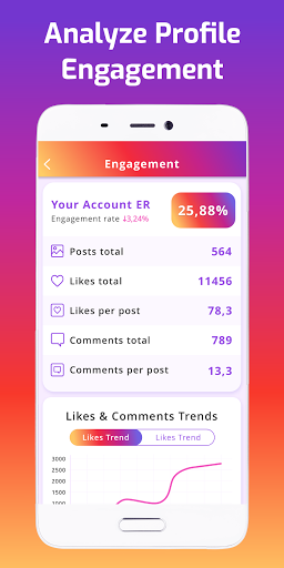 iMetric: Profile Followers Analytics for Instagram 4.11.0 Screenshots 2
