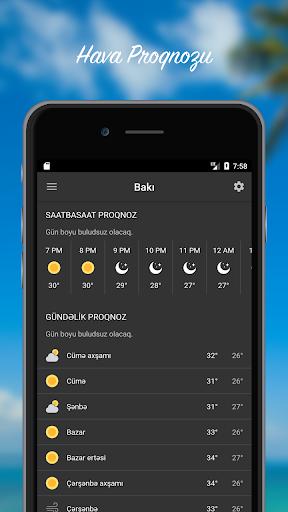 Hava Proqnozu - Azu0259rbaycan  screenshots 1