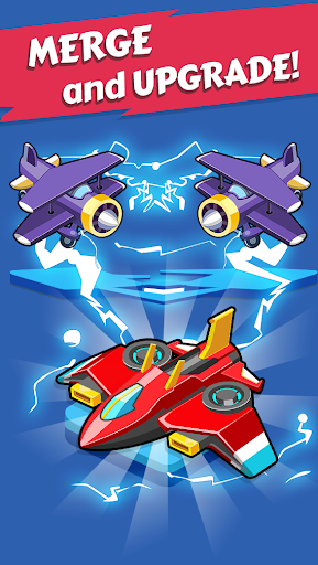 Merge Planes - Best Idle Relaxing Game  screenshots 2