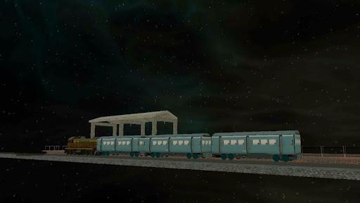 space bullet train simulator screenshot 3