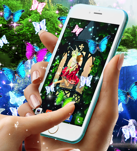 Magical forest live wallpaper apktram screenshots 7