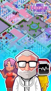 Idle Hospital Tycoon – Director Life Sim Mod Apk (Unlimited Gold/Diamond) 1