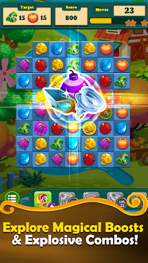 Witchy Wizard: New 2020 Match 3 Games Free No Wifi 2.1.7 screenshots 2
