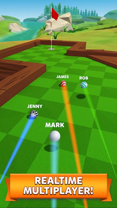 Golf Battle Android App Screenshot