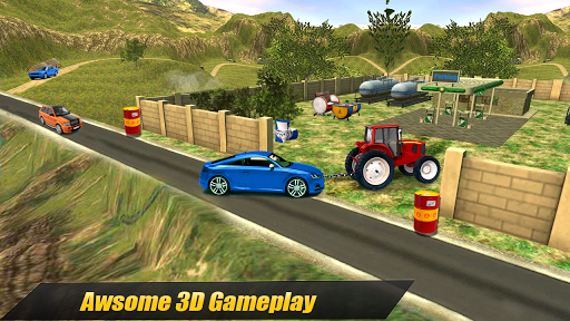 Heavy Tractor Pulling & Farming Drive Simulator screenshots 6