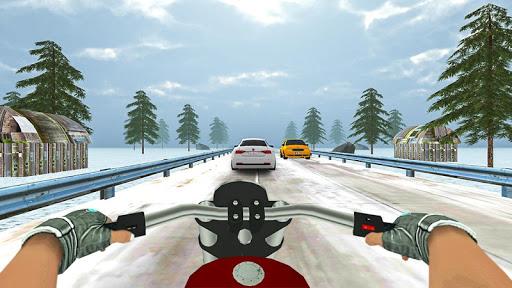 Highway Real Traffic Bike Racer screenshots 8