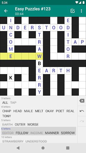 Fill-In Crosswords  screenshots 1