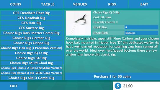 Carp Fishing Simulator MOD APK 2.1.5 (Unlimited Money) 13