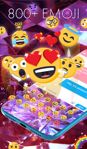 Diamond Wallpaper for Girls and Keyboard modavailable screenshots 3