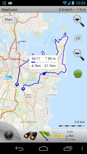 Maverick: GPS Navigation 2.8 screenshots 6