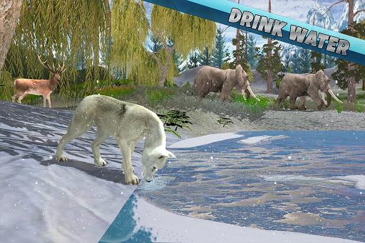 Arctic Wolf Family Simulator: Wildlife Animal Game 2.2 screenshots 17