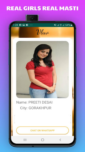 Vluv -Indian Girls Mobile Number For Whatsapp Chat 1.0 Screenshots 2